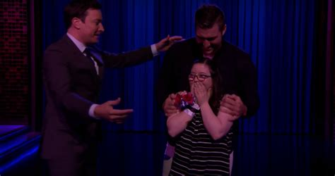tim tebow walking carpet with tebow dances with special needs on fallon you are