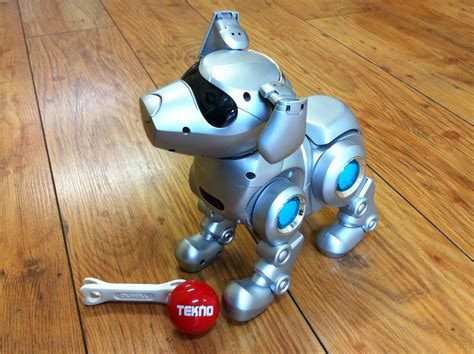 tekno puppy tekno the robotic puppy wikiwand