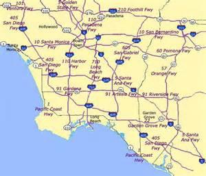 california freeway maps california map freeways