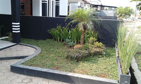 desain depan rumah com taman teras depan rumah minimalis lahan sempit desain