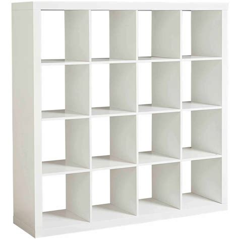 16 Cube Bookcase White Best Home Design 2018 16 Cube Bookcase White