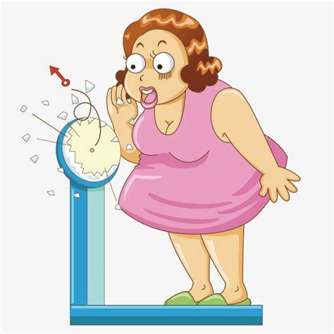 imagenes animadas obesidad mujer obesa la obesidad sobrepeso mujer png y vector
