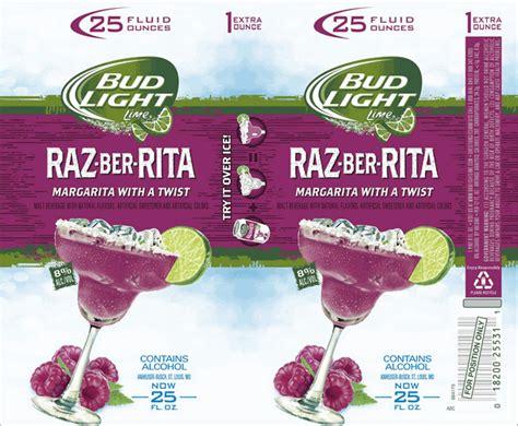 Bud Light Margaritas Bud Light Lime Raz Ber Rita Margarita Beerpulse