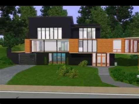 angela cullen s the notebook house the sims 3 house 2 the cullen house youtube