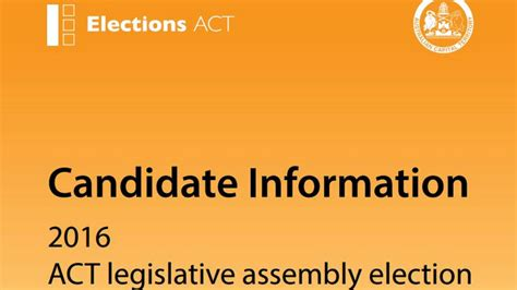 the next act a handbook for graduating from arts or books the candidate handbook is out for the 2016 act election