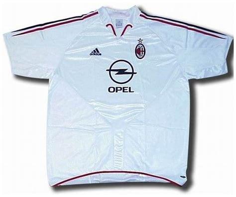 Jersey Inter Milan 2005 Away milan jerseys 2004 2005 white and black away jersey