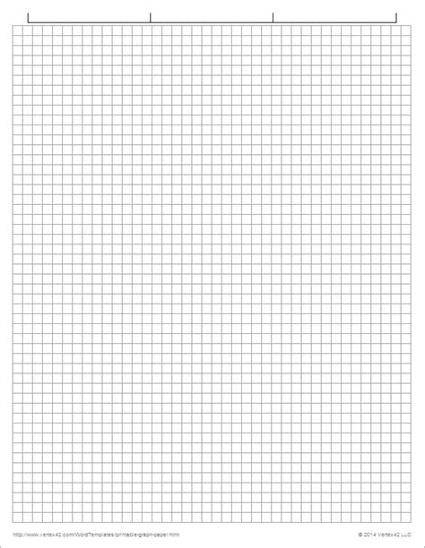 one inch graph paper template printable graph paper templates for word