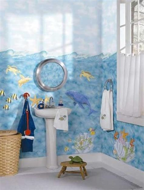 designing kids bathroom � colors and themes interior design
