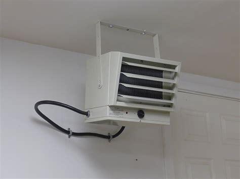 Installing Garage Heater by Installing A Fahrenheat Fuh54 Electric Garage Heater
