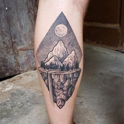 minimalist mountain tattoo tattoo collections