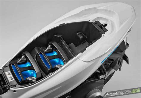 Pcx 2018 Azul Escuro by Tokyo Motor Show 2017 Honda Pcx Hybrid Pcx Listrik