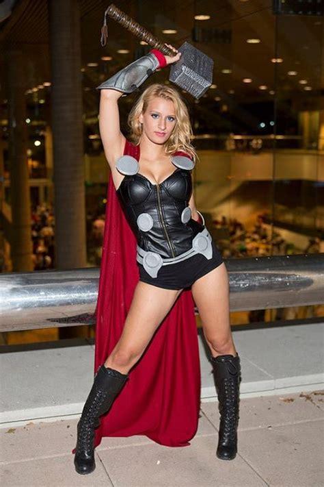 female thor cosplays   stunningly hot