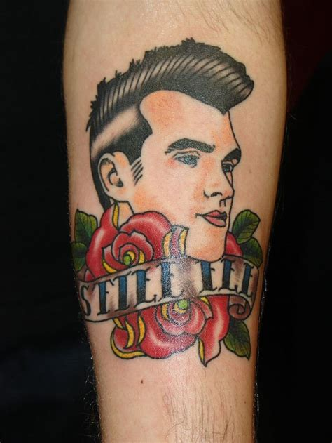morrissey quot still ill quot tattoo ronnie loves morrissey