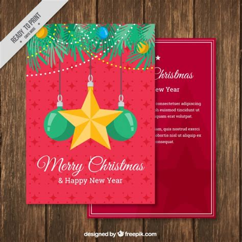 new year ornament vector free and new year greeting ornaments vector free