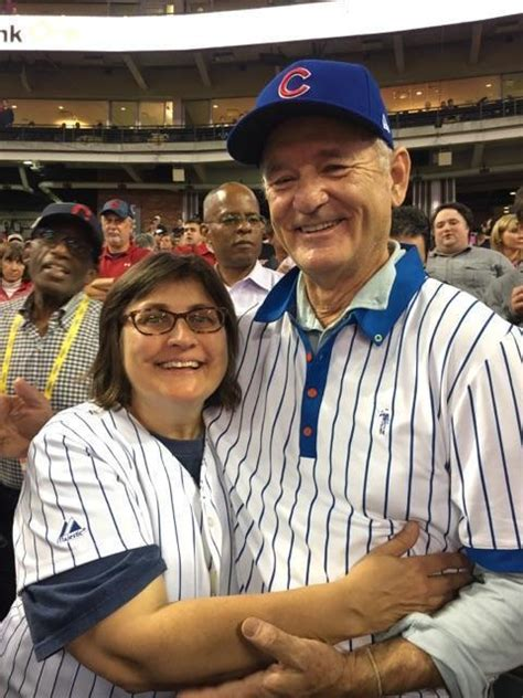 bill murray fan bill murray gives series seat to cubs fan from
