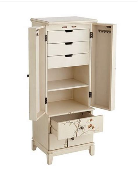 How To Make Jewelry Armoire by Top 7 White Jewelry Armoires For Your Bedroom Furniture