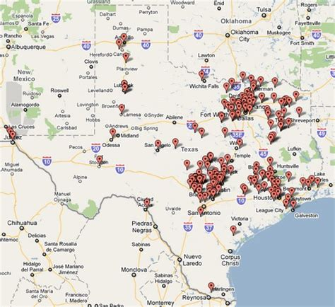 texas wine map where s the wine an interactive map of licensed texas wineries as of april 2010 food the