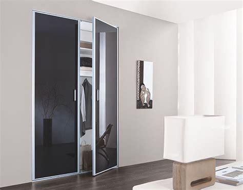 portes de pliantes kazed portes de placard pliantes verre laqu 233 anthracite chambre adultes