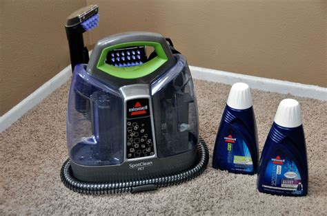 Which Bissell Carpet Cleaner Formula Is Best - bissell s spotclean complete pet portable carpet cleaner