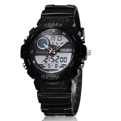 Ohsen Waterproof Quartz Digital Sport Ad0926 1 ohsen waterproof quartz digital sport ad1008 1 black jakartanotebook