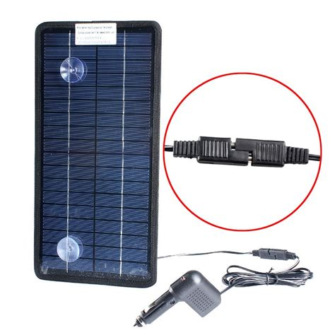 marine battery charger maintainer solar powered car auto boat mower marine trickle charger