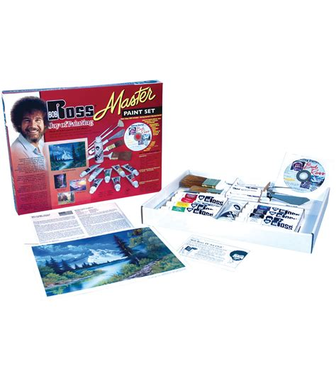 Bob Ross Master Paint Set Jo