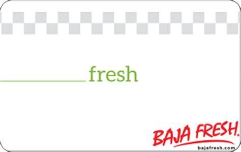 Baja Fresh Gift Card - giftcardlab