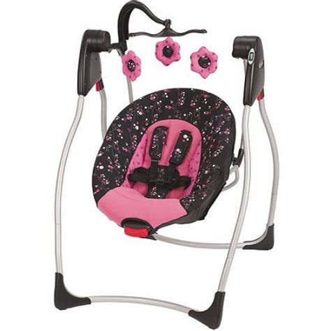 black and white baby swing graco comfy cove swing priscilla walmart com
