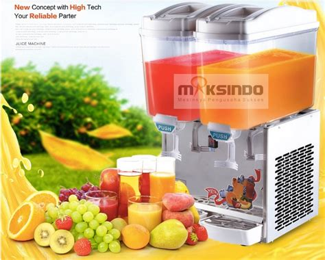Mesin Juicer Dispenser mesin juice dispenser 2 tabung 17 liter murah toko mesin