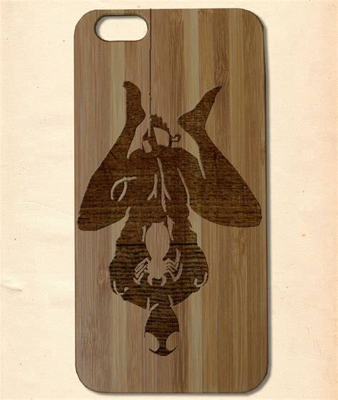 Handmade Wooden Iphone Cases - spider handmade wooden cover for iphone 6 6s plus