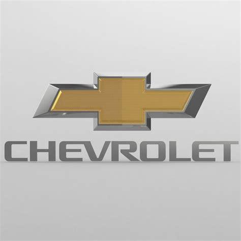 logo chevrolet 3d chevrolet logo 3d cgtrader