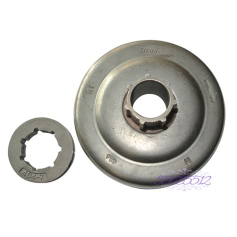Lager Sprocket Chainsaw 070 Nrb clutch drum sprocket 7t 404 quot x7t for stihl 070 ms720 chainsaw spare part in chainsaws from