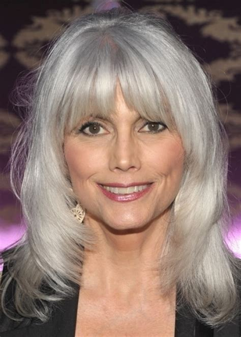 haircuts for straight grey hair beautiful gray hair cuts hair world magazine