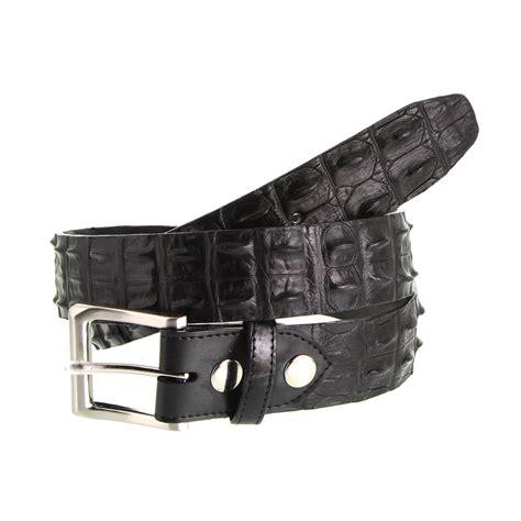 crocodile leather belt the australian made caign