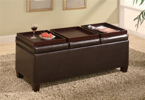 coffee table storage ottoman with tray 5 best storage ottoman coffee table powerful coffee