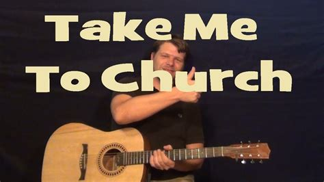 tutorial guitar take me to church take me to church hozier easy guitar lesson how to play