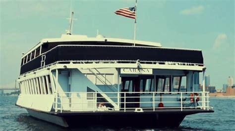 yacht boat party nyc cabana yacht nyc boat party friday may 26th youtube