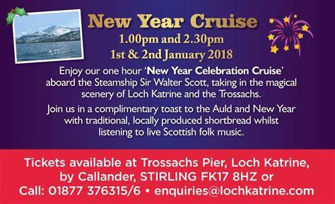 new years cruises loch katrine