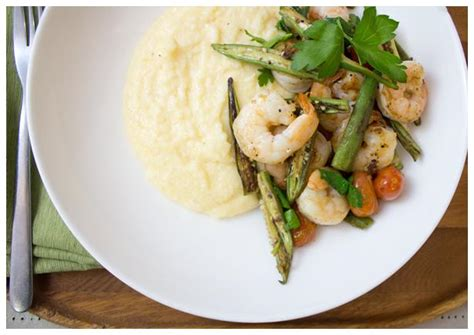 carbohydrates in grits skillet shrimp and okra cheddar grits recipe hellofresh