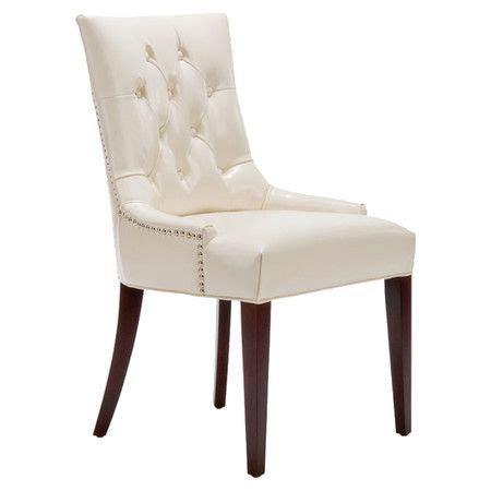 amanda faux leather accent chair keaton side chair dressing chairs and leather