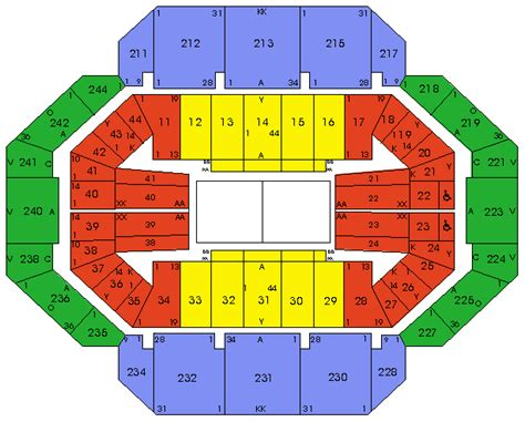 seating chart rupp arena rupp arena tickets