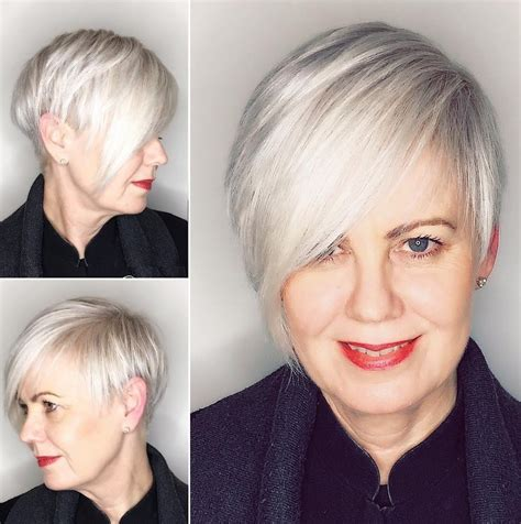short asymmetrical hairstyles for over 50 80 classy and simple short hairstyles for women over 50