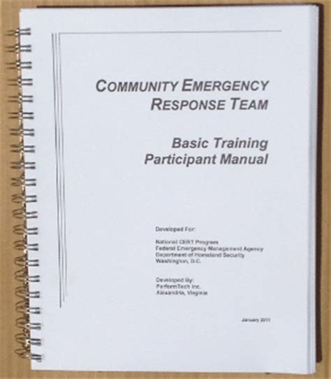 cert basic participant manual books cert basic participant manual