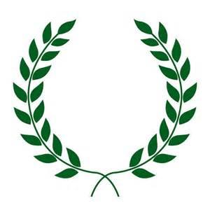 laurel leaf crown template 25 best ideas about laurel wreath on wreath