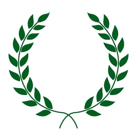 laurel leaf crown template 25 best ideas about laurel wreath on wreath