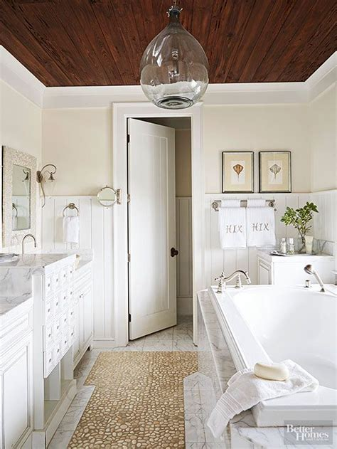 inspired  wood beam plank ceiling design