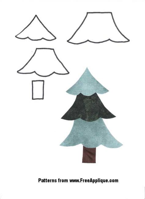 christmas tree with pattern christmas patterns for applique angels christmas trees
