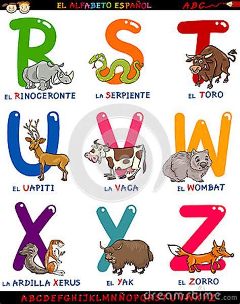 colors that start with x alphabet espagnol de bande dessin 233 e avec des animaux