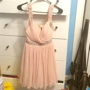 macy s light macys light pink semi formal dress poshmark