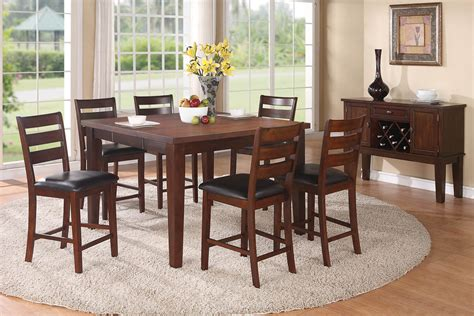 7 counter height dining room set
